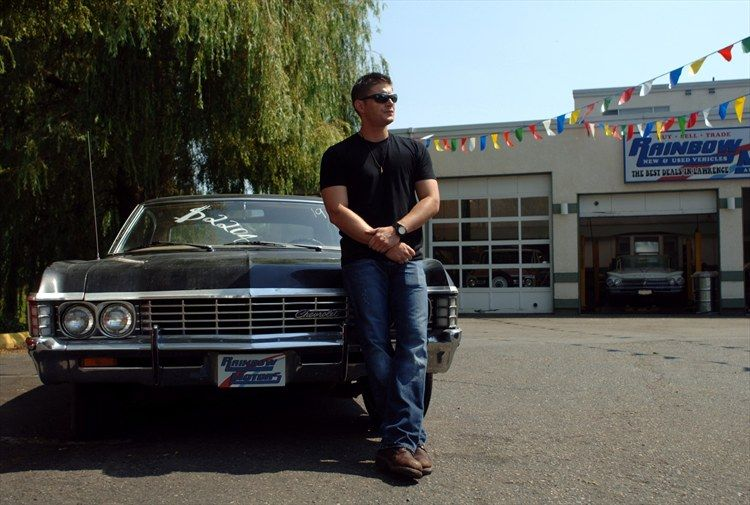 1967 Chevy Impala 4 Door Black For Sale Supernatural Impala Jensen Ackles