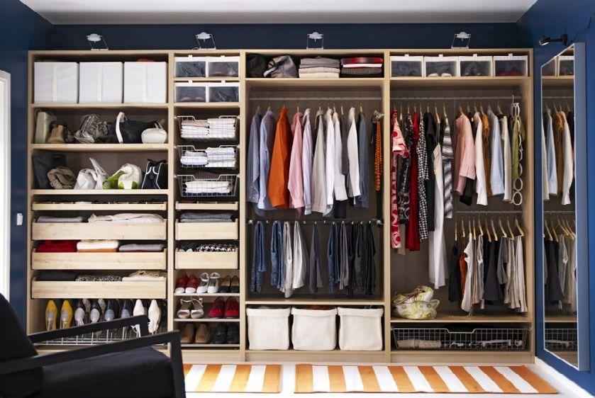 comment ranger son dressing nos astuces i 2018 guardafato na parede pinterest garderob. Black Bedroom Furniture Sets. Home Design Ideas