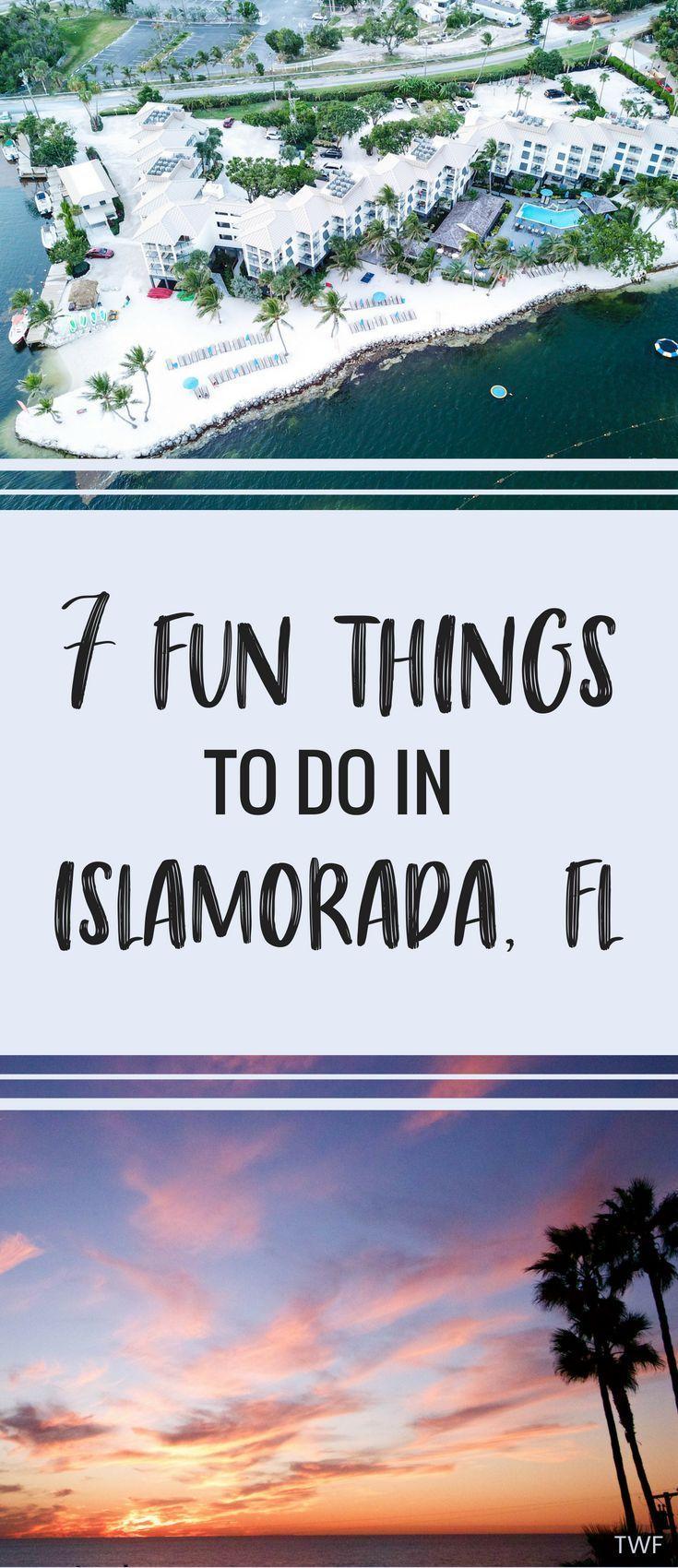 7 Fun Things to Do in Islamorada, Florida