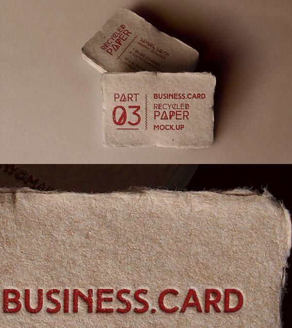 Free vintage business card mockup tutorials resources free vintage business card mockup reheart Images