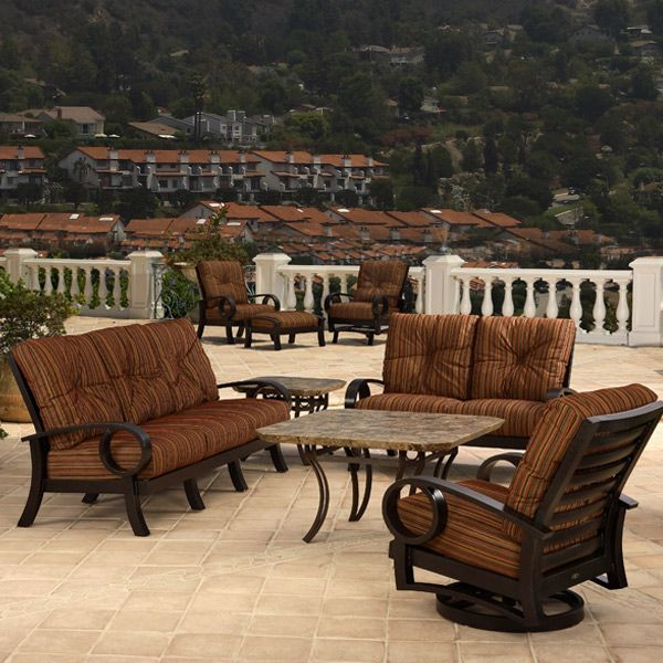 Eclipse Deep Seating Set Patio Outdoor Dining Set Outdoor Seating