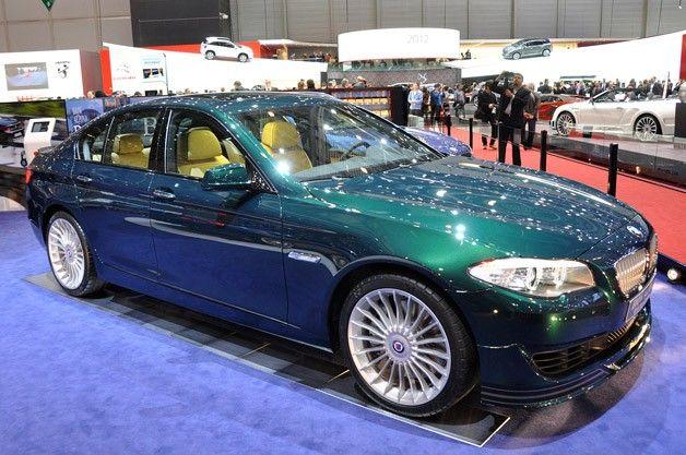 Alpina B5 Biturbo Sedan Looks The M5 Square In The Eyes