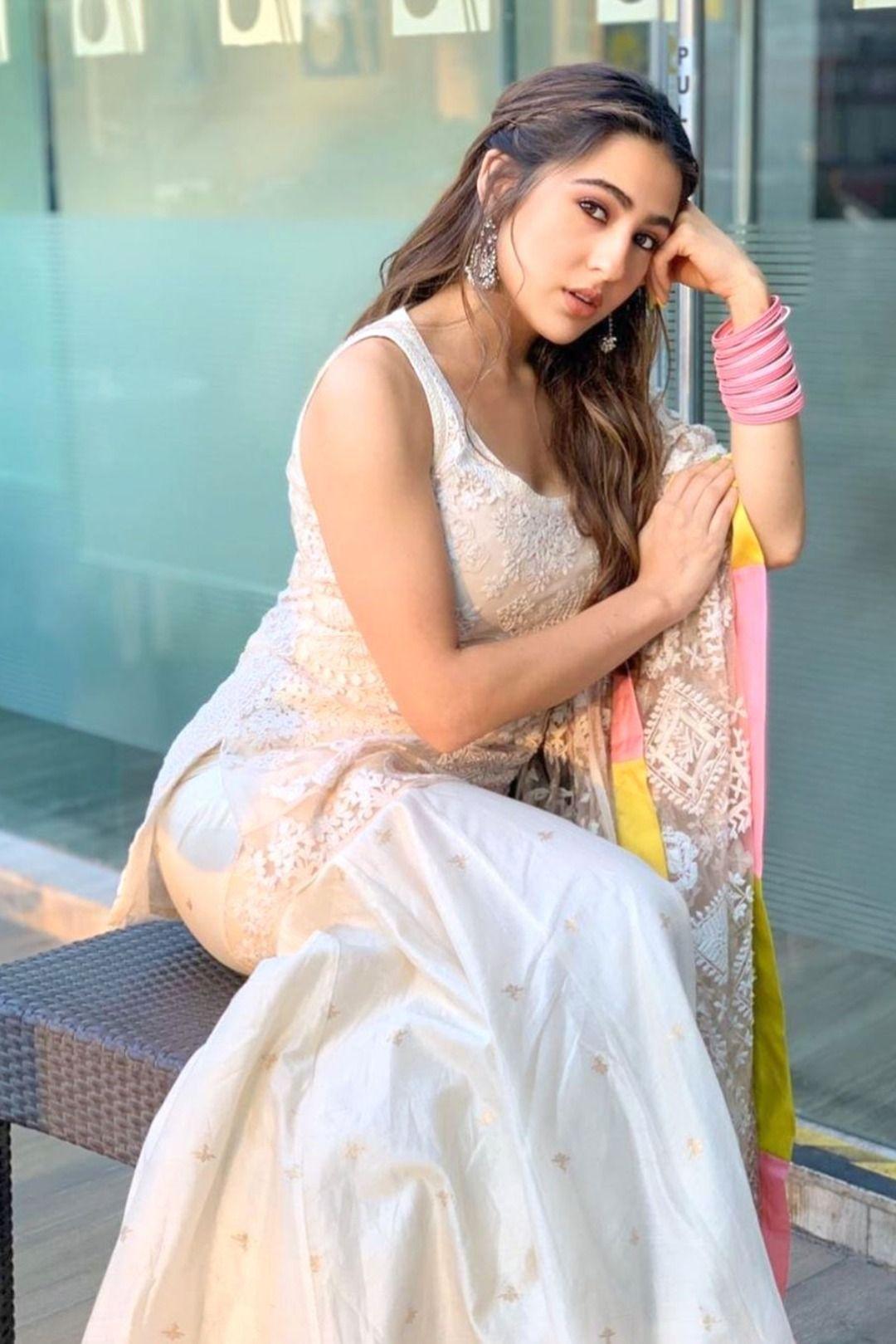 Mumbai: Sara Ali Khan during the promotion of film