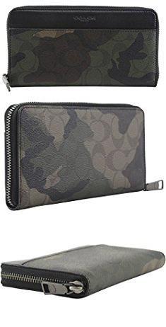 3057c3c056b Coach Camo Purse. Coach Accordion Zip Wallet Signature Camo Print, Style  F87189, Mahogan/ Dark Green Camo. #coach #camo #purse #coachcamo #camopurse