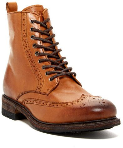 ddb1e0ea9da Pin by Lookastic on Brogue Boots & Combat Boots | Shoes, Boots, Mens ...