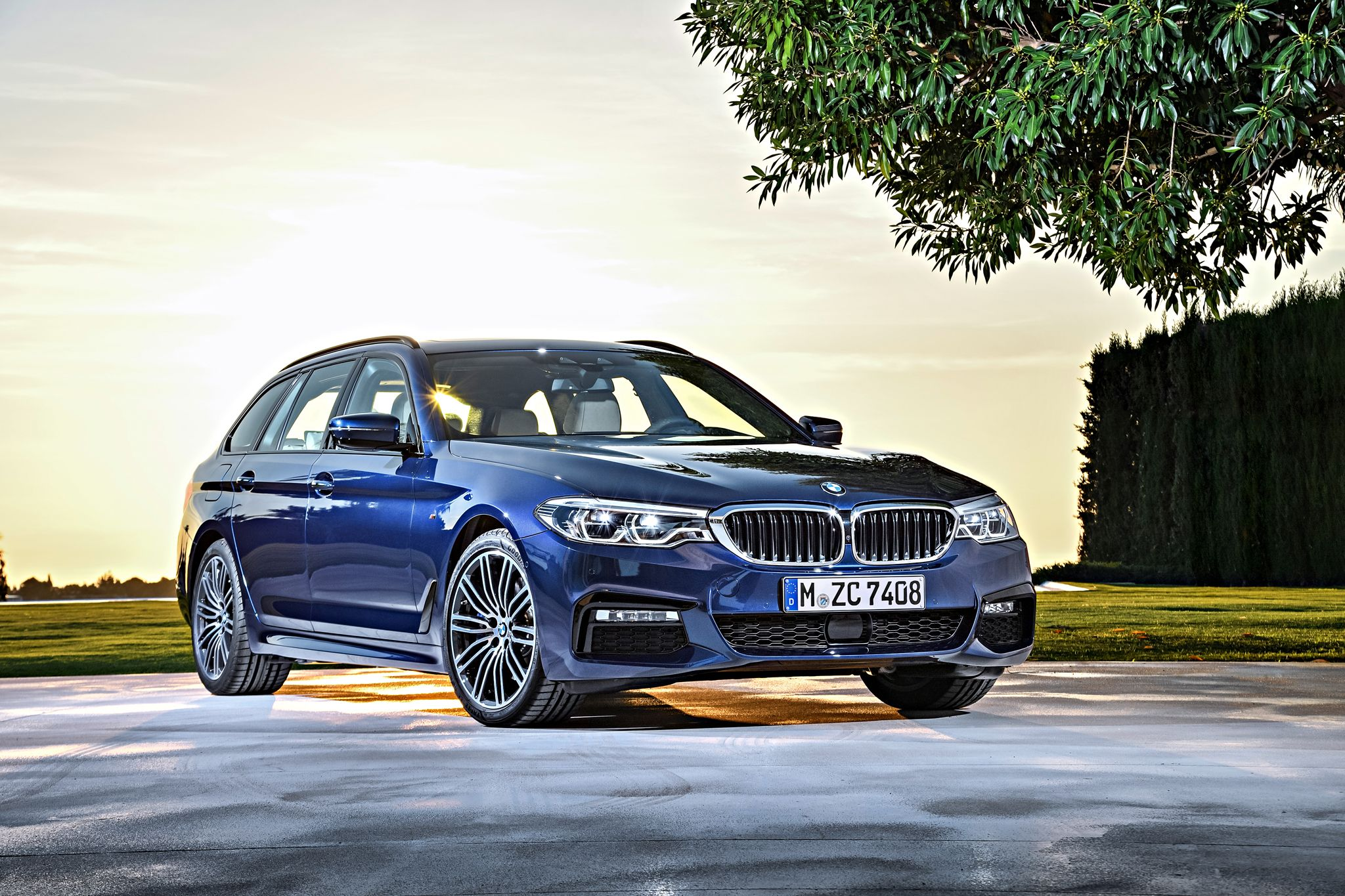 2k17 The New Bmw G31 530d Touring Mpackage Drivingscenes