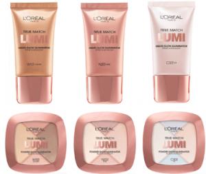 2.50 off L'Oreal Paris True Match Lumi face product
