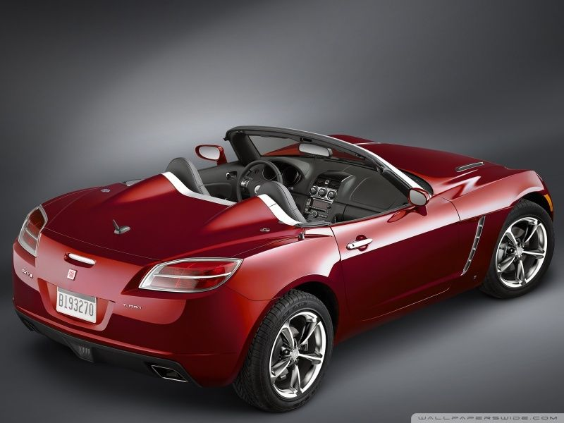 2007 Saturn Sky Turbo Gm Convertible Red
