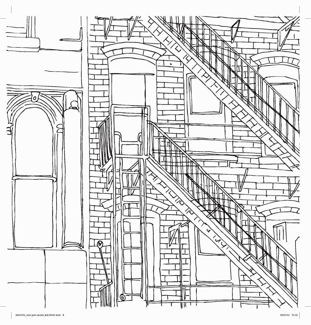 New York City Coloring Pages | Coloring Pages | Pinterest | City ...