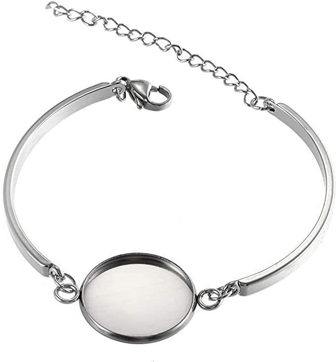 اشتري اونلاين بأفضل الاسعار بالسعودية سوق الان امازون السعودية 10 قطع من شوناي الإسورة من ا Stainless Steel Bangles Diy Bracelets How To Make Bracelet Making