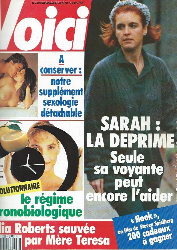 Voici 228 1992 - SARAH FERGUSON