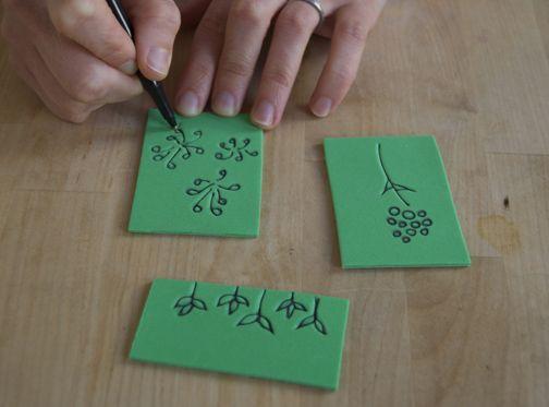The best foam stamps ideas on pinterest homemade