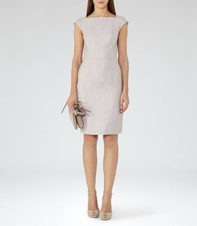 VIRGINIA DRESS TAILORED DRESS PINK GREY | Syd | Pinterest