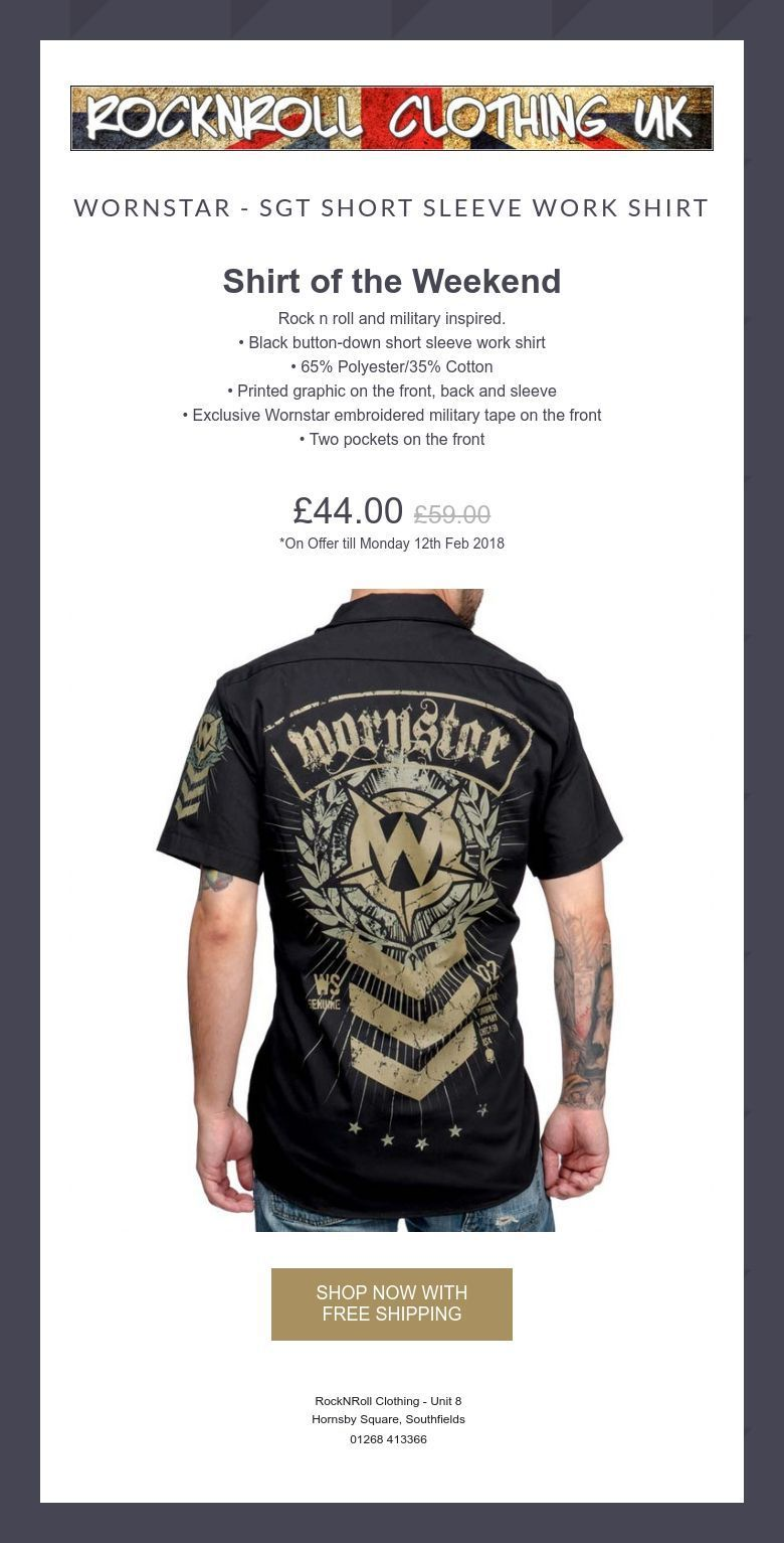 Embroidered Work Shirts Uk Rockwall Auction