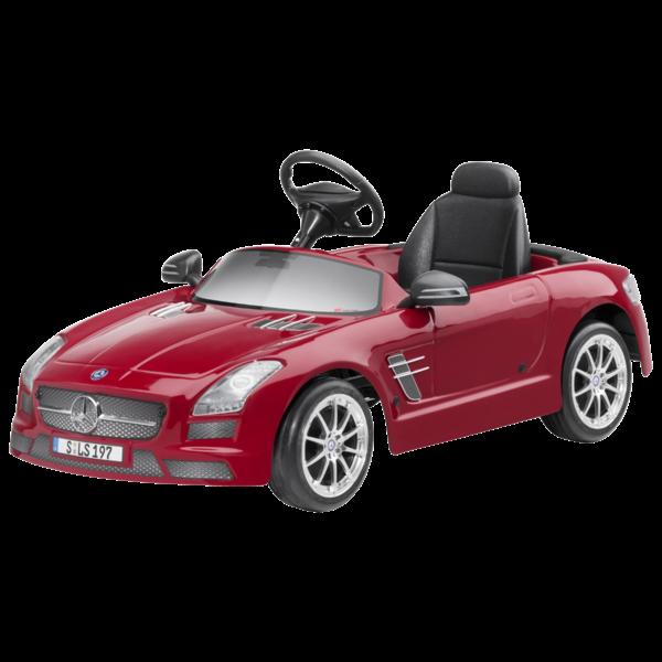 #6 Toy Mercedes Pedal Car