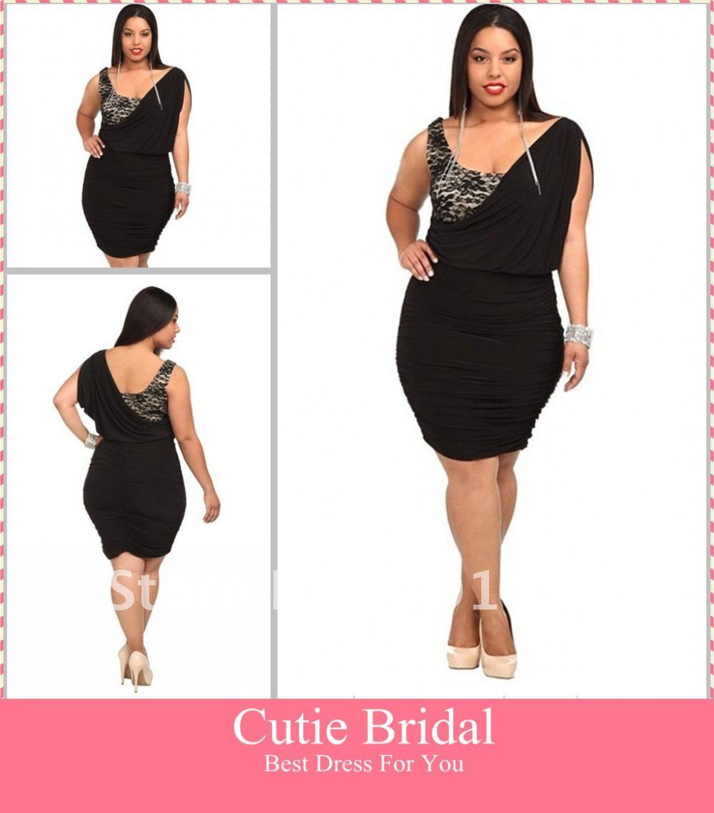 Cocktail Dresses Plus Sizes Cheap