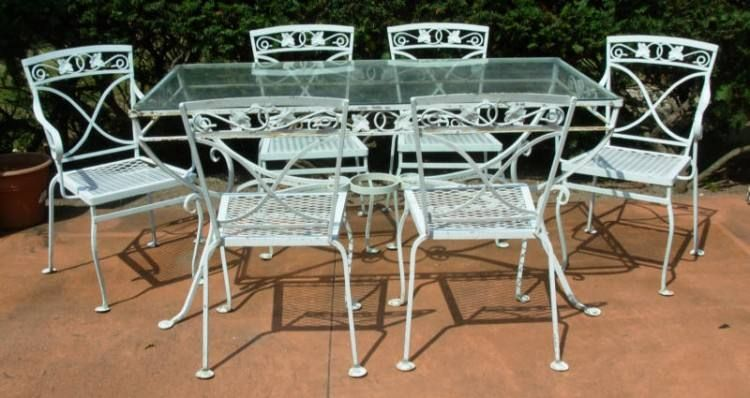 Heavy Duty Rod Iron Patio Furniture With Images Cast Iron