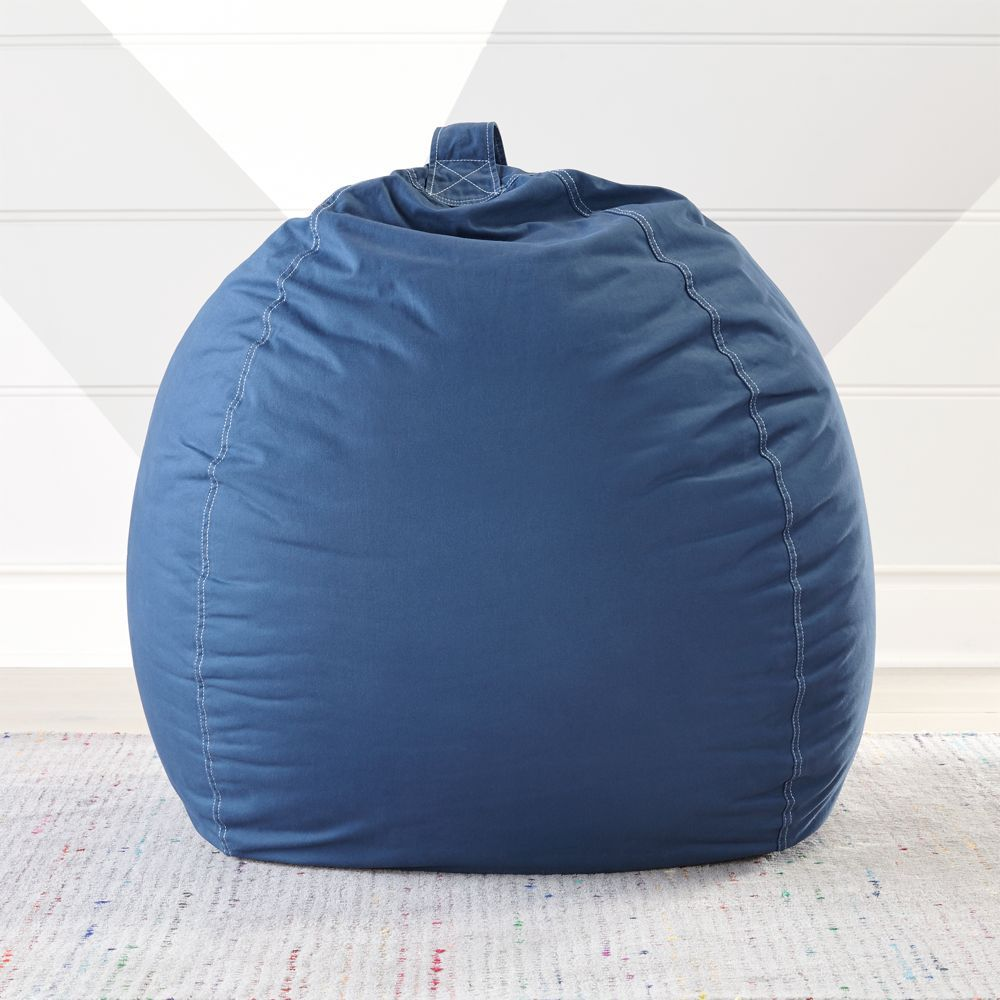 Phenomenal Large Navy Bean Bag Chair Cover In 2019 Products Blue Bralicious Painted Fabric Chair Ideas Braliciousco