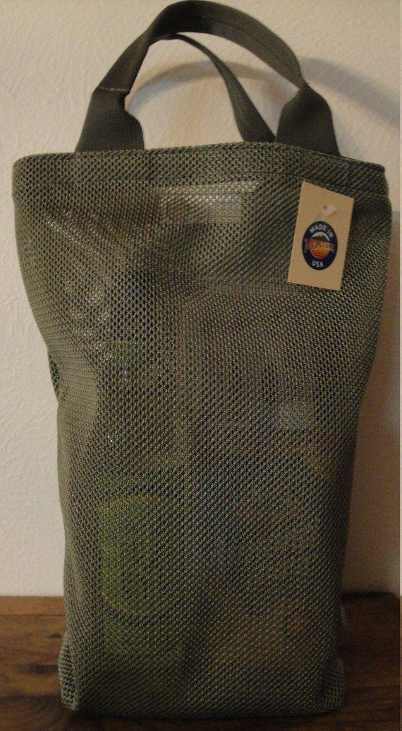 Nylon Mesh Bag   Small Green Tactical Tote Bag  f65796fe322c