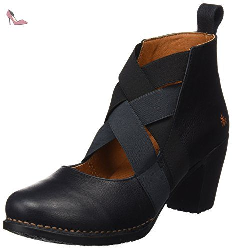 bottines art memphis noire