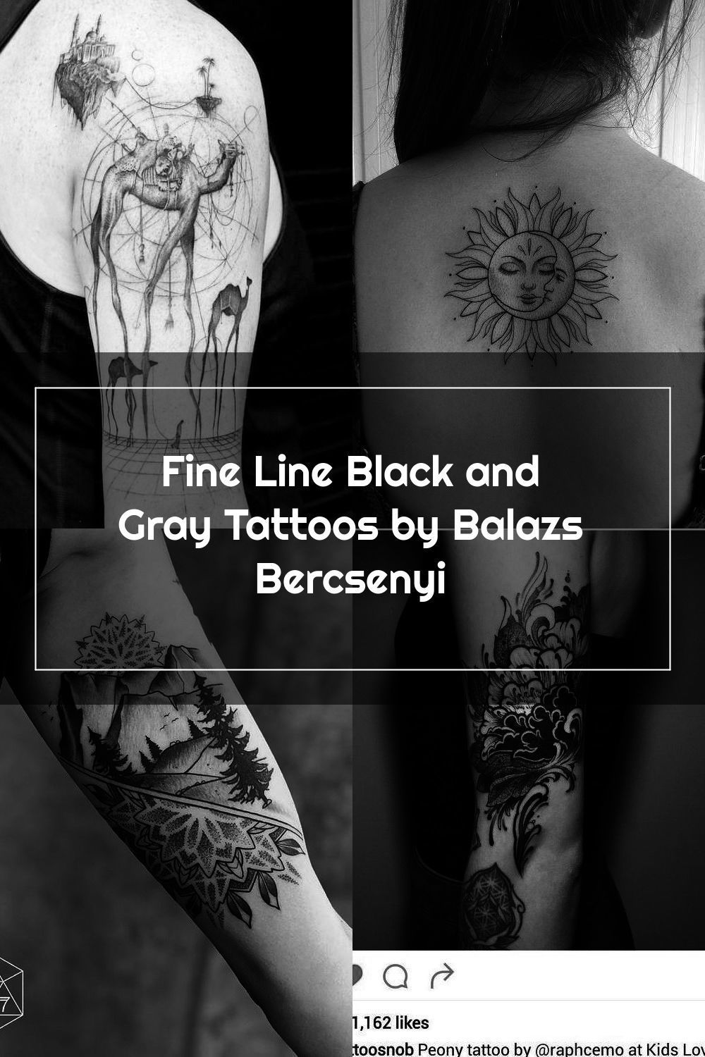 Fine Line Black And Gray Tattoos By Balazs Bercsenyi Fine Line Black And Gray Tattoos By Balazs Bercsen In 2020 Black And Grey Tattoos Grey Tattoo Tattoo Sleeve Men
