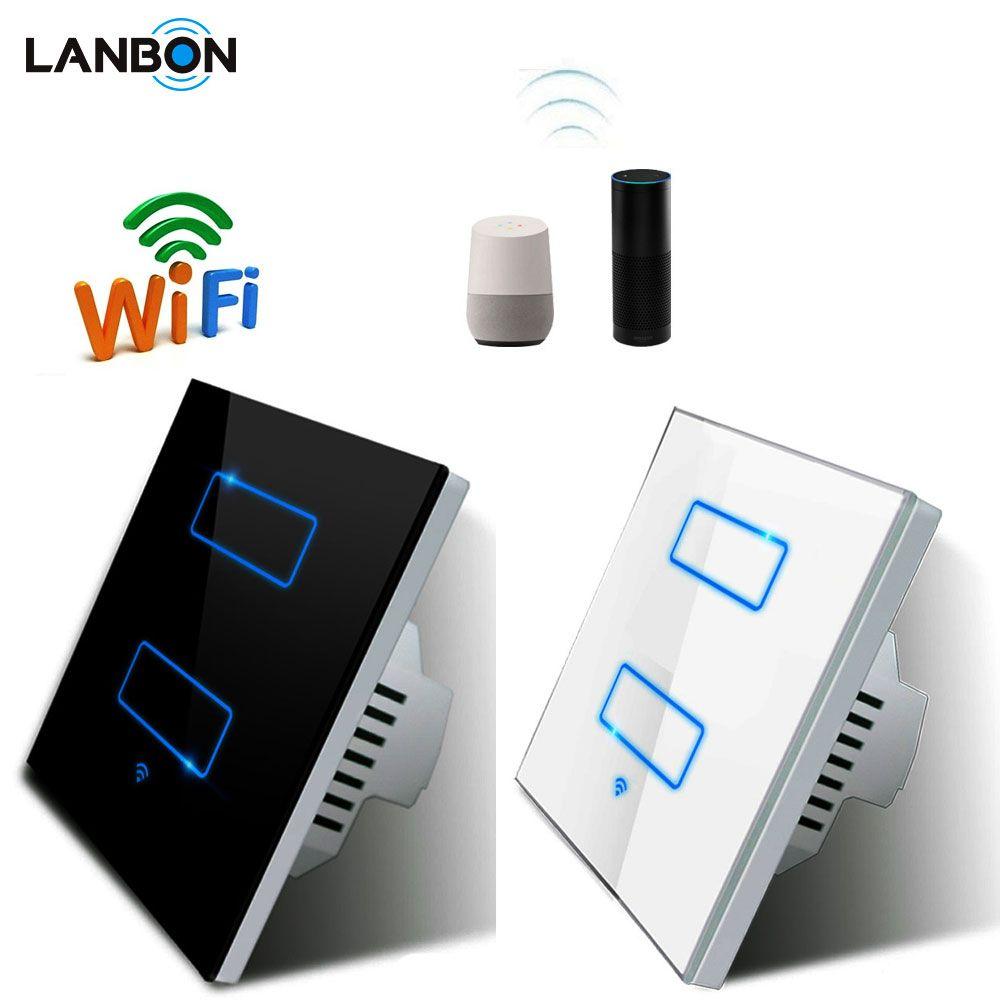 Factory OEM 110V~250V Smart Wall Switch Alexa Google Home
