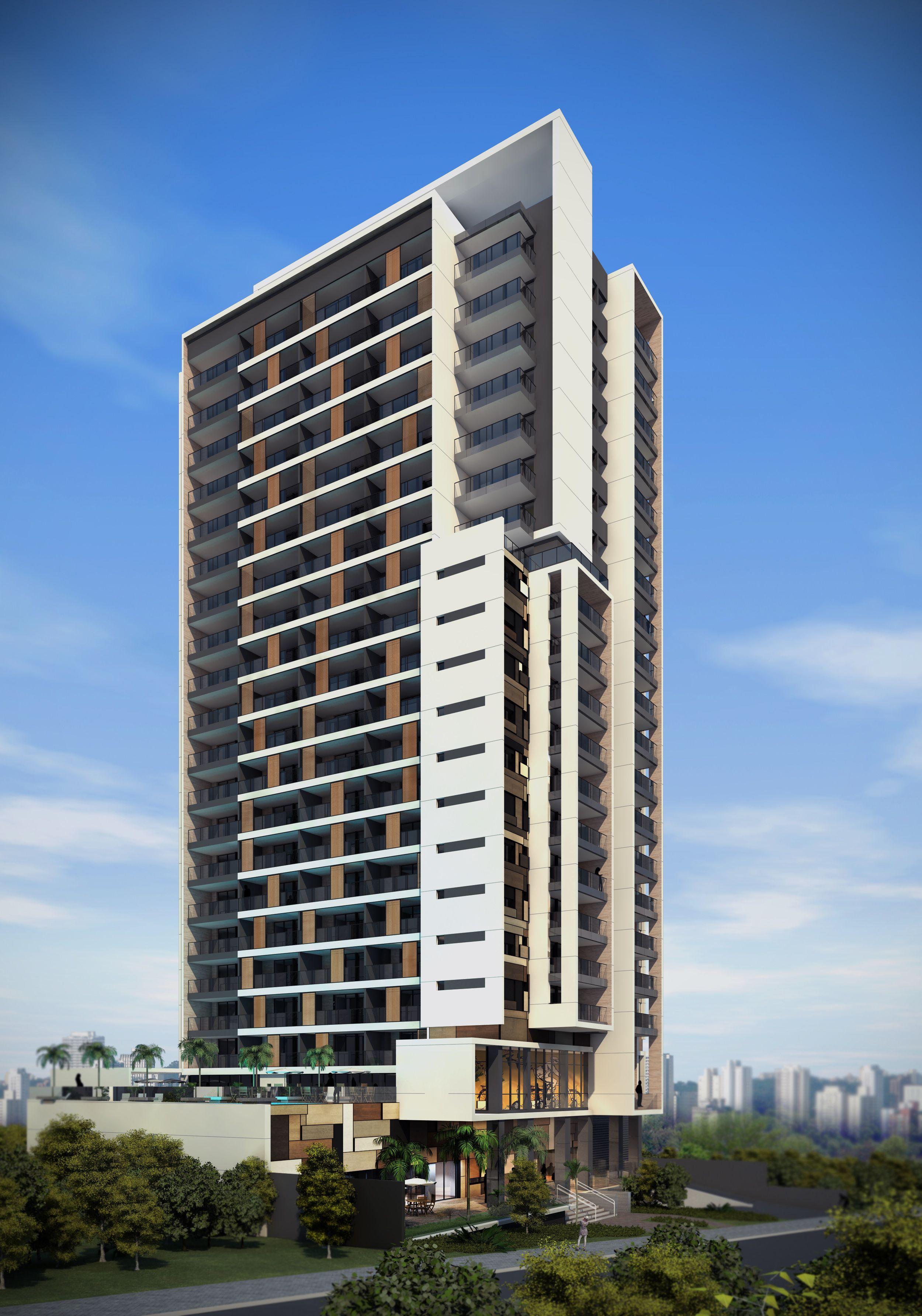 Building Exterior: Edifício Residencial (em Desenvolvimento)
