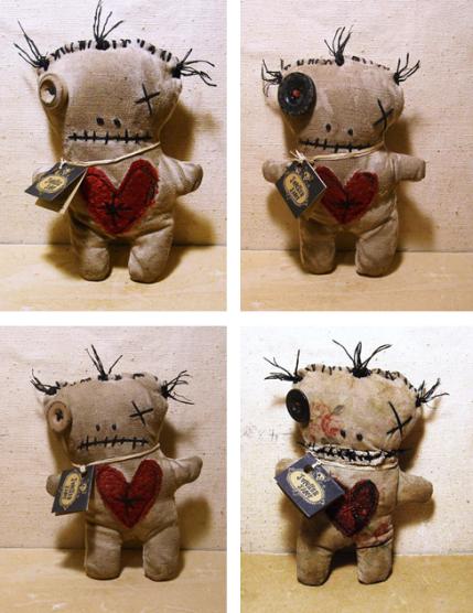 Don T Like Valentines Make The Anti Valentine Voodoo Doll Spirit Dolls Art Dolls Monster Dolls