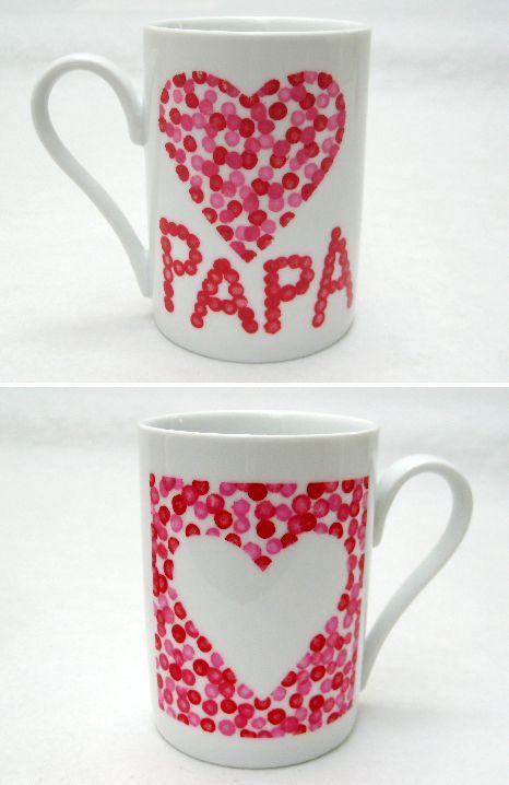 Tasse Papa, Idée Cadeau Papa, Décoration Tasse, Activité Fete Des Peres,  Assiette