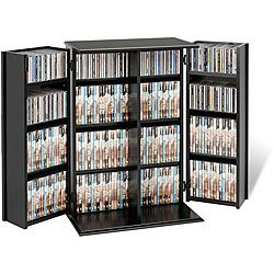 Broadway Locking DVD/CD Media Storage Cabinet by Prepac | Media ...