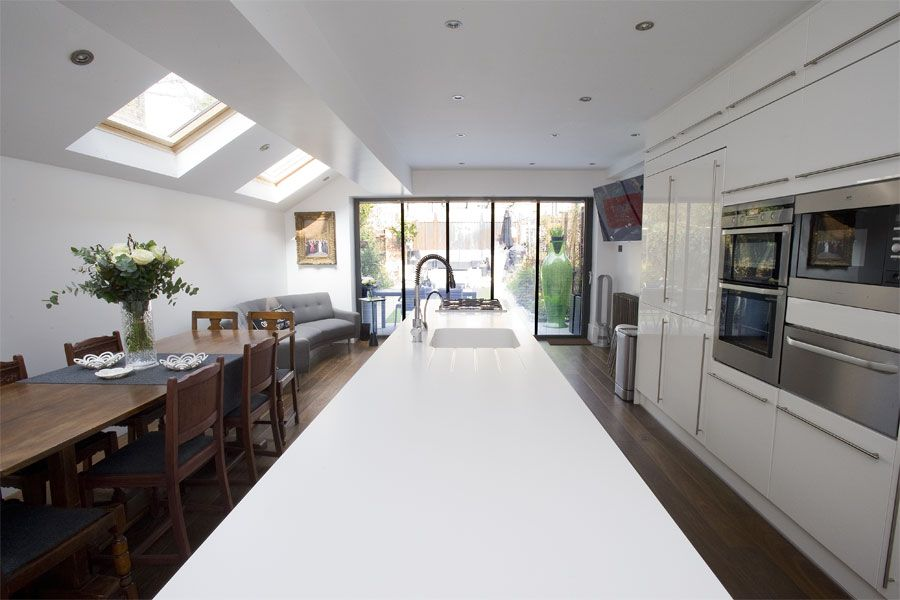 Side Return Extension Kilburn London NW6 | Kitchen | Pinterest ...