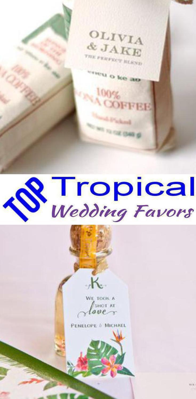 Tropical Wedding Favors | Wedding shower favors, Shower favors and ...