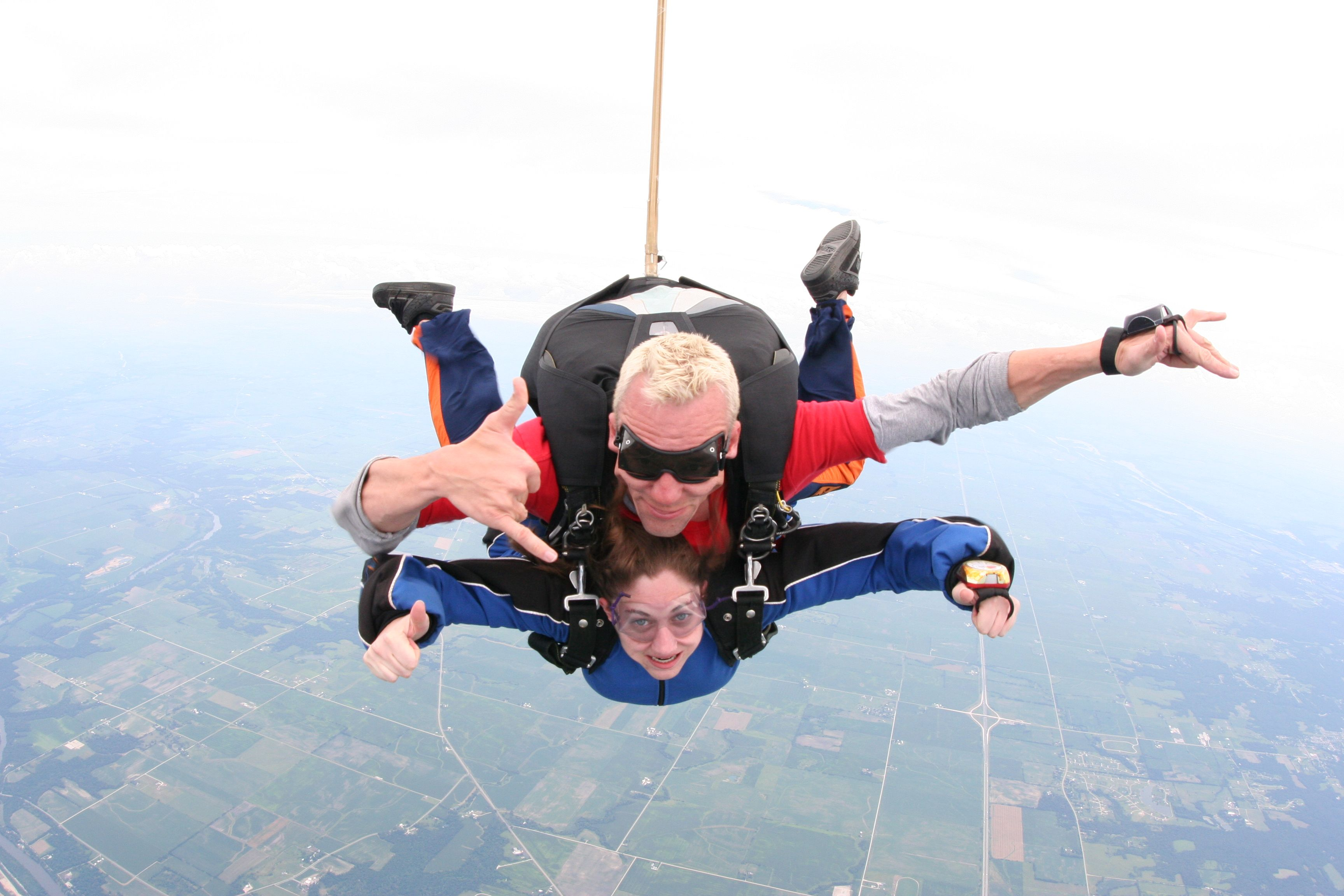Skydiving! Love remembering the fun my family sees in this...