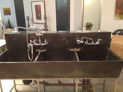 Vintage Triple Basin Soapstone Sink | EBay