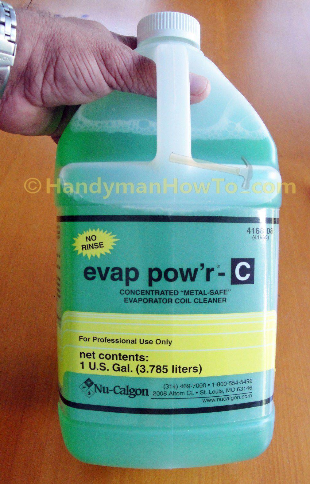 Evaporator Coil Cleaner Nu Calgon Evap Pow R C 4168 08 1