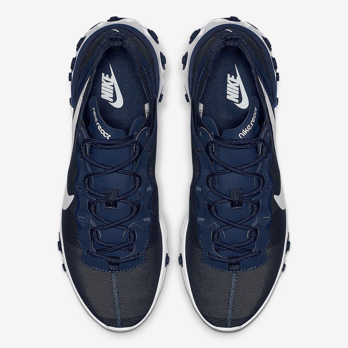 online retailer ce790 b0369 Nike React Element 55 Midnight Navy BQ6166-401 Release Info    SneakerNews.com
