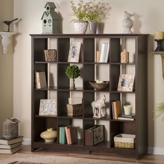 Bush Furniture Buena Vista 16-cube Storage Bookcase | Overstock.com Shopping - Big Discounts on Bush Storage & Bush Furniture Buena Vista 16-cube Storage Bookcase (Bush Furniture ...