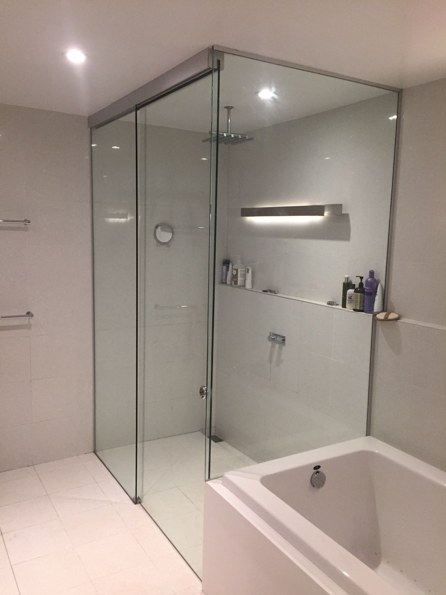 Frameless Glass Steam Shower Doors Glass Table Tops And Antique