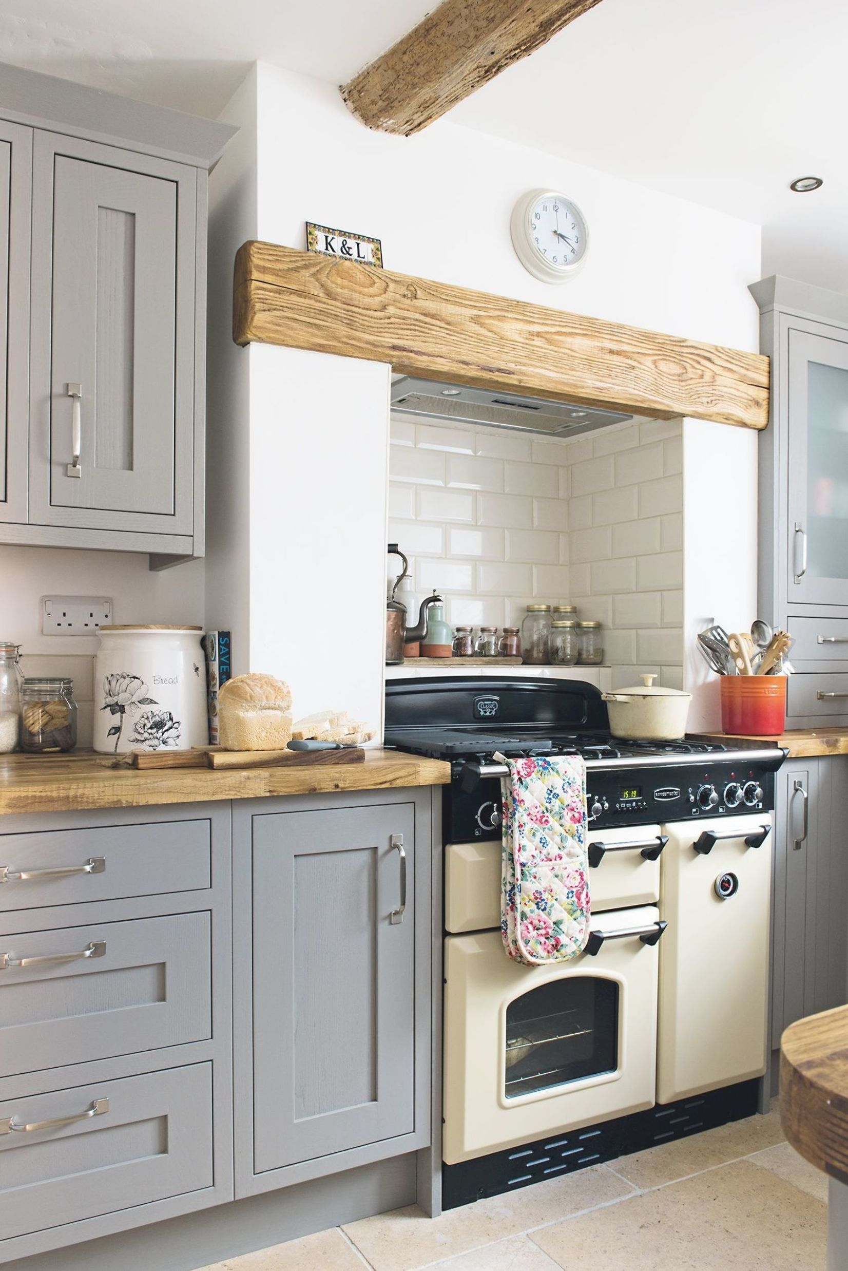 B&Q Cooke & Lewis shaker kitchen in grey in 2020 Country