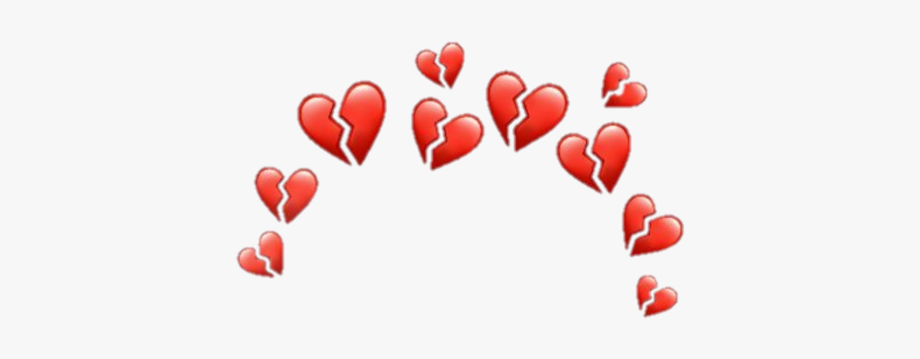 Broken Heart Emoji Crown Png Broken Heart Emoji Heart Emoji Crown Png