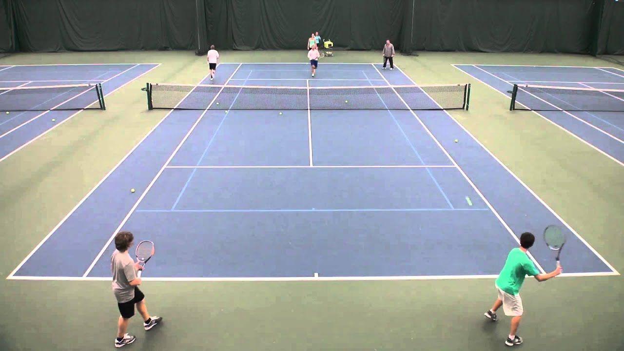 High School Coaching Drills Swarm Tennis Drills Tennis Camp Tennis Doubles