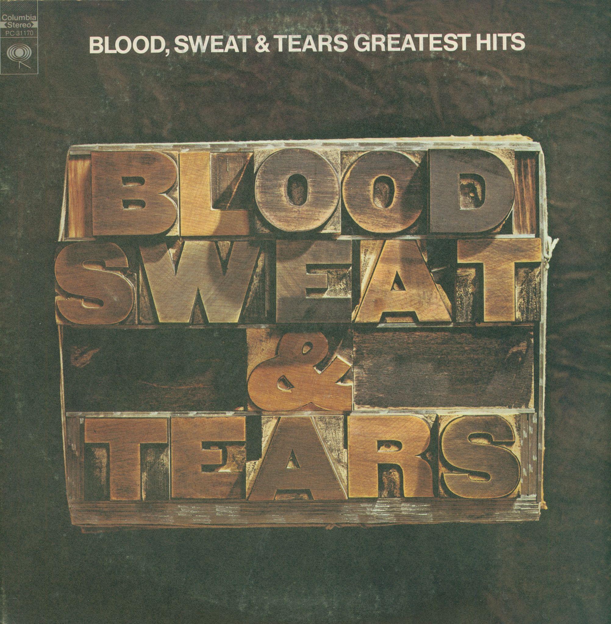Blood Sweat Tears Greatest Hits Vinyl Lp Record Album Blood