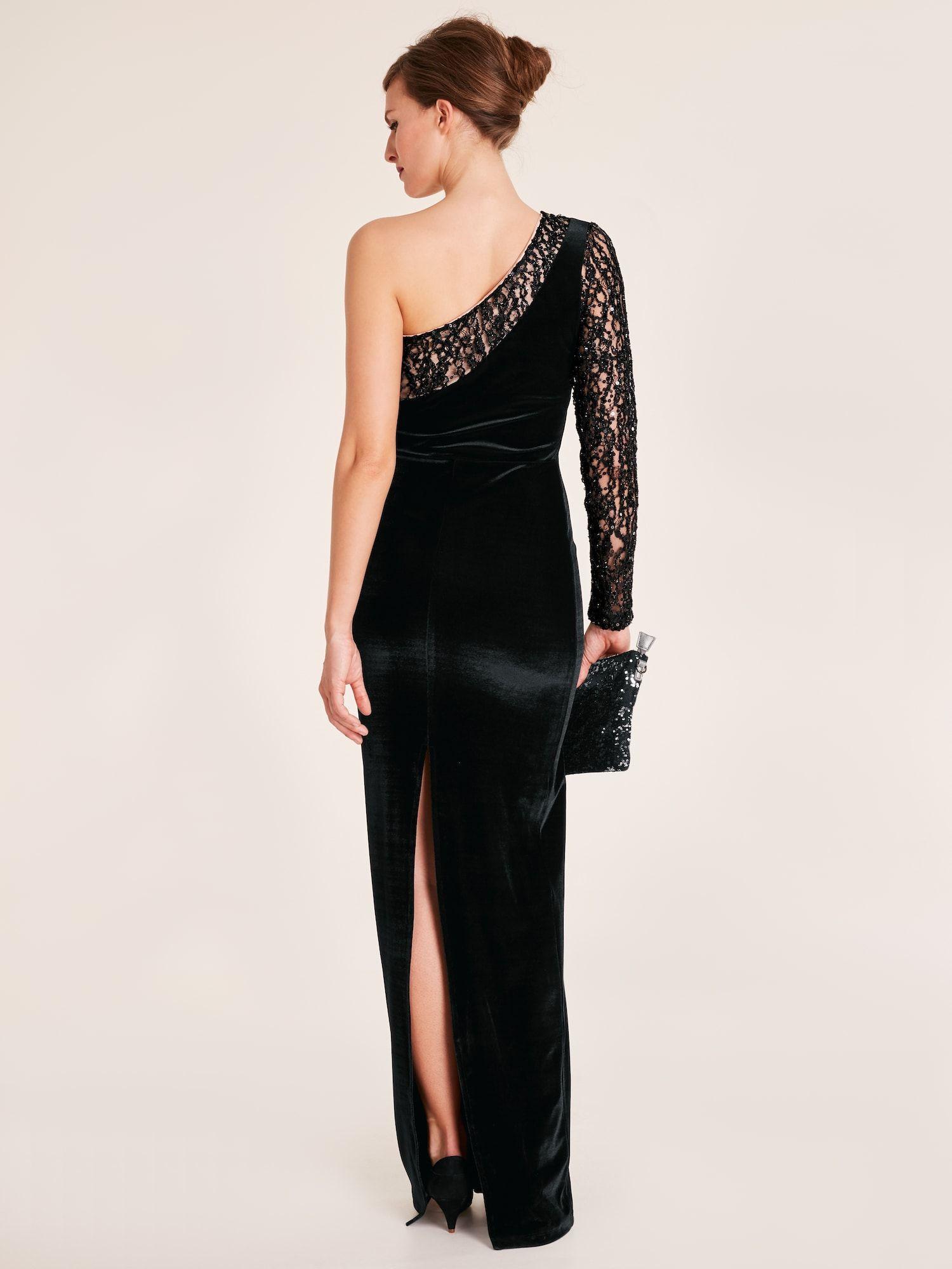 Heine Abendkleid Damen Schwarz Grosse 38 Tullstoff Heine Abendkleid Damen Schwarz Grosse 38 Fashion Dresses Formal Dresses