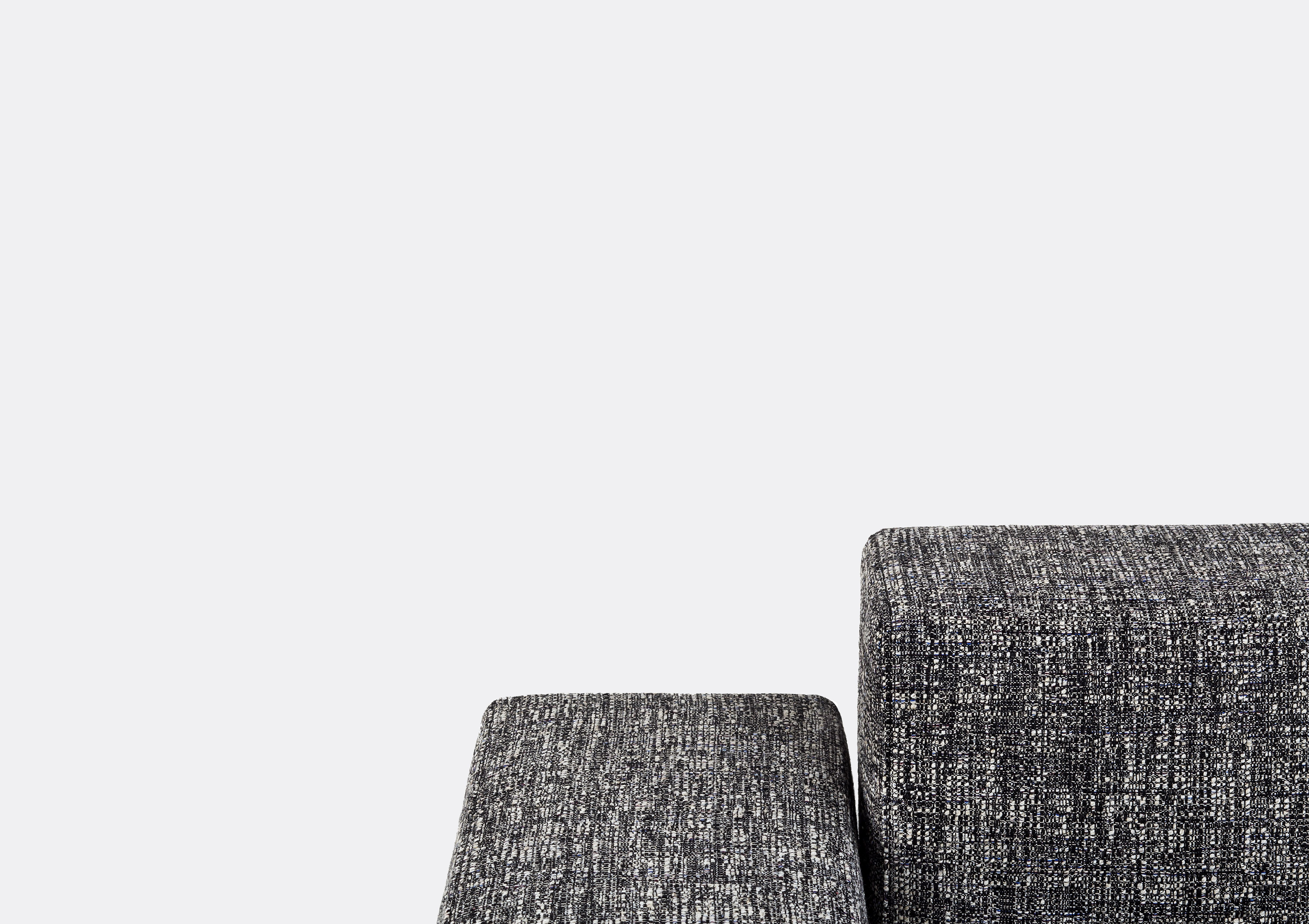 the refolo sofa by charlotte perriand in kvadratraf simons textiles from the collection