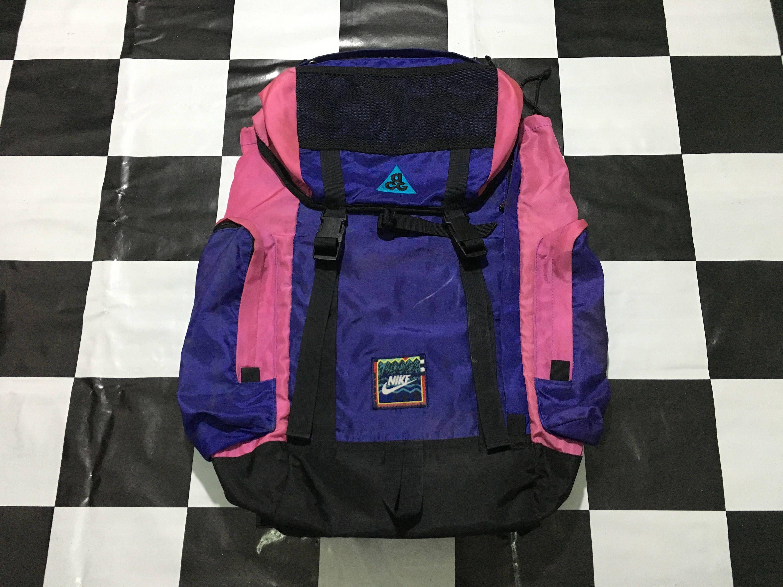 3b3ed1ffb31 Nike Acg, Vintage Nike, Color Blocking, Backpacks, Backpack Bags, Backpack,
