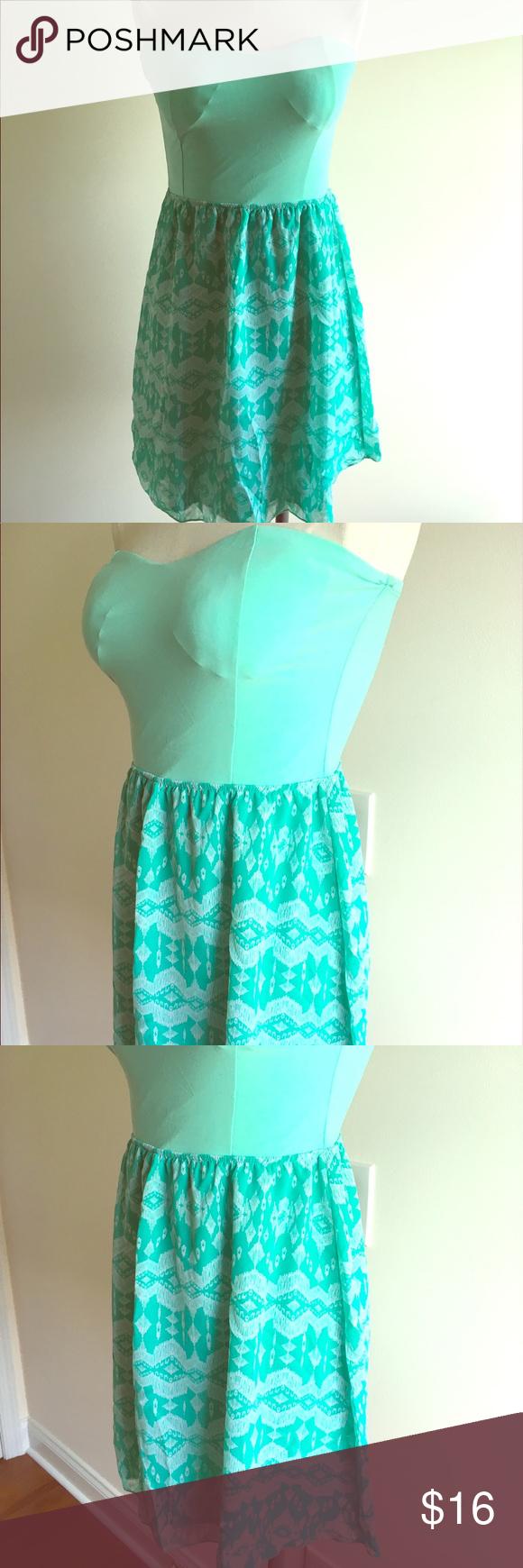 ⭐️Elegant Aqua Blue Party Dress⭐   Blue party dress, Blue party ...