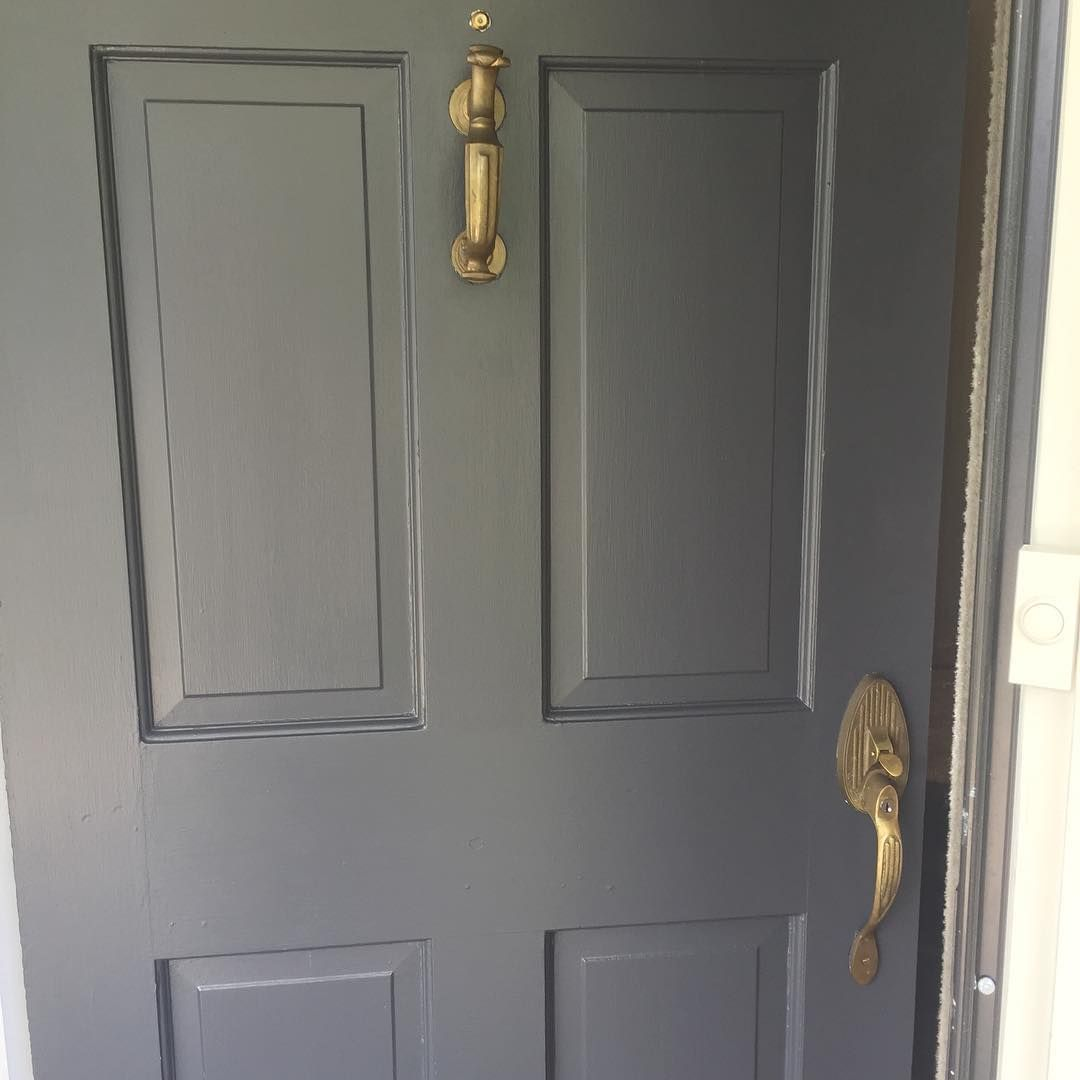 Benjamin Moore Wrought Iron Exterior Front Doors Exterior Iron Doors In 2020 Benjamin Moore Wrought Iron Wrought Iron Paint Wrought Iron Doors