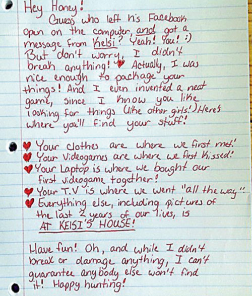 scarier than really nasty break note nice funny letters boyfriend