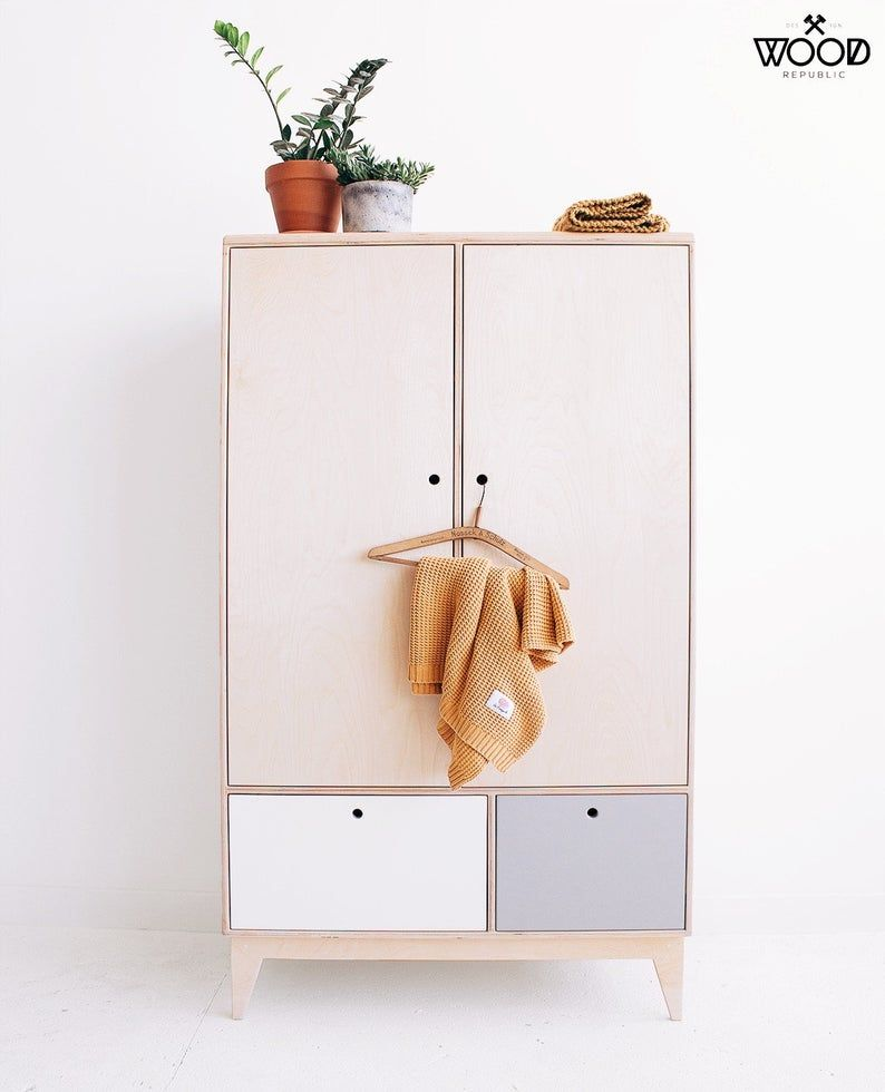BABA/handgefertigter Sperrholzschrank Sperrholzschränke