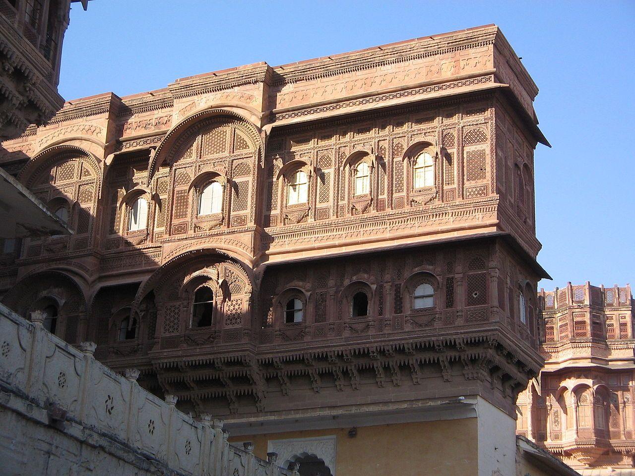 Haveli at Mehrangarh Fort in Jodhpur - Haveli – Wikipedia